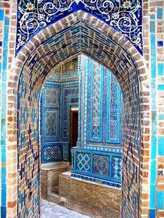 Samarkand, Islamic architecture.
