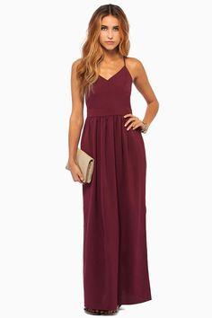 x back long dress boutique