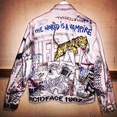 Custom Denim Jacket Himumimdead Jackets