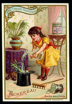 Liebig S411 - Childrens Occupations - Gardener by cigcardpix, via Flickr