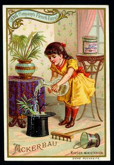Liebig S411 - Childrens Occupations - Gardener by cigcardpix, via Flickr