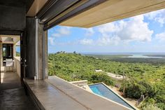 Eco-inspired House of Waterfalls on Vieques, Puerto Rico