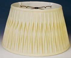 Floor Lamp Shade Sizes Wide Cream or White Finest Quality Smock Pleated Silk Shantung w/Soft Luxury Fabric Lining Floor Lamp Shades, Swag Light, Cream White, Lampshades, Smocking, Flooring, Silk, Luxury, Glass