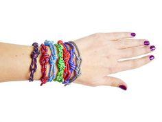 Figure Eight Rope Bracelet Men, Rock Climbing Bracelet, Knot Bracelet, Knot Jewelry