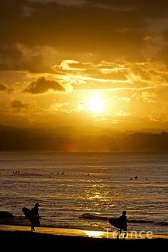 Rainbow Bay Sunset.