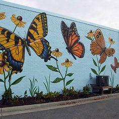 Park / Bahçe / Yaşam Alanı Duvar Resmi Boyama Örnek