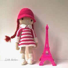 Isabelle Kessedjian: Une robe à rayures pour Poupinette.