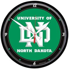 WinCraft North Dakota Logo Wall Clock - $24.99