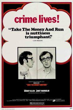 Toma el dinero y corre.  Año: 1969.  Director: Woody Allen