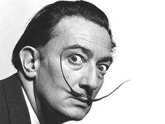 Salvador Domingo Felipe Jacinto Dali i Domenech, Marquis of Dalí Púbol, known only as Salvador Dalí, was an important Catalan painter, known for his surrealist work Banksy, Mona Lisa, Gif Animé, Animated Gif, Gif Art, Salvador Dali Quotes, Salvador Dali Tattoo, Les Gifs, Animation