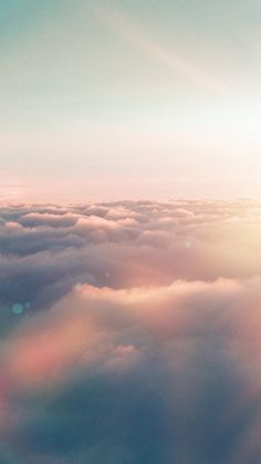 Sky Fly Sun Nature Fantastic Flare iPhone 6 wallpaper