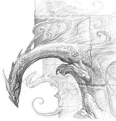 John Howe I love dragons!