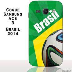 Coque de protection rigide pour téléphone mobile Samsung Ace 3. Partagez votre passion pour la coupe du Monde 2014. http://www.kinghousse.fr/fr/coque-telephone-samsung-ace-3-s7270/5213-coque-samsung-ace-3-bresil-2014-3700823186659.html