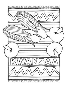 Kwaanza Book For Kids With Crafts