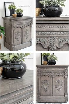 DIY Restoration Hardware Greige Paint Finish - Salvaged Inspirations