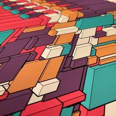 #generative #print #creativecoding #genartclub