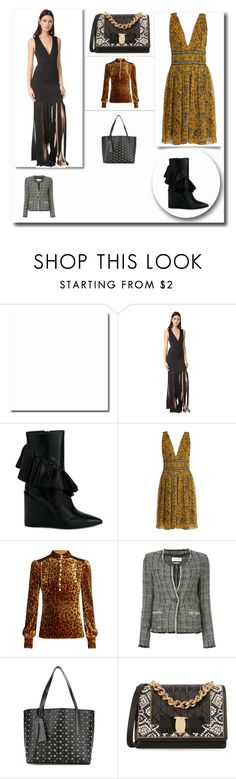 """""""Fashion funda"""" by cate-jennifer ❤ liked on Polyvore featuring Zac Posen, J.W. Anderson, Étoile Isabel Marant, Hillier Bartley, Jimmy Choo and Salvatore Ferragamo"""
