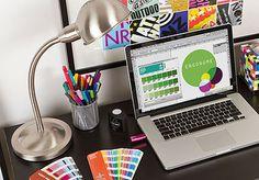 Creamos y optimizamos la identidad Visual de tu empresa. Llevá tu marca al éxito deseado.   Papelería Empresarial, Tarjetas Corporativas & personales, merchandising, Sitios Web Responsive, Folleteria y carteleria publicitaria.