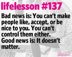 It don't matter.