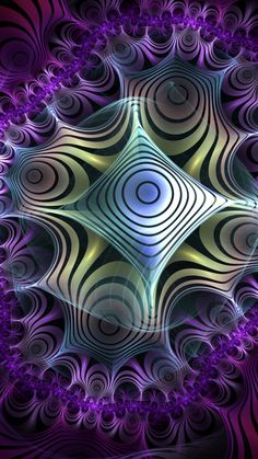 Wallpaper Iphone Love, Cool Backgrounds, Psychedelic Art, Fractal Art, Modern Art, Images, Digital Art, My Arts, Photoshop