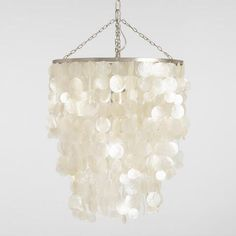 walls White Capiz Waterfall Chandelier - Brand name clothing online deals Brand name clothing is Capiz Shell Chandelier, Bathroom Chandelier, White Chandelier, Bedroom Chandeliers, Couple Room, Minimalist Room, Teen Room Decor, Guest Bedrooms, Inspired Homes