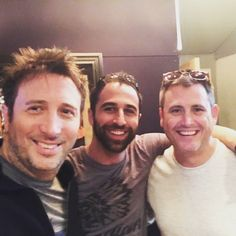 Dec 4 2016 Awesome writing session in the studio today with @JimmyMcGorman & Rob! #newmusic