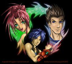 Legend of Legaia: Heroes by soohong.deviantart.com on @deviantART