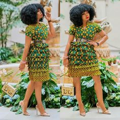African Print Dresses, African Dresses For Women, African Print Fashion, African Prints, African Wear, African Attire, African Women, Fashion Prints, Ankara Blouse