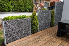 Privacy Fence Designs, Privacy Fences, Wrought Iron Fences, Building A Fence, Aluminum Fence, White Picket Fence, Pool Fence, Garden In The Woods, Concrete Planters
