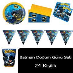 Batman Parti Seti (24 Kişilik)
