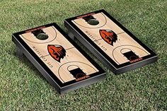 Oregon State OSU Beavers Cornhole Game Set Basketball Court Version >>> Click on the image for additional details.