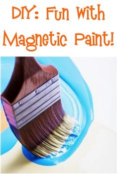 DIY: Tips and Tricks for using Magnetic Paint! {such a fun way to spruce up a special corner of a Bedroom or Play Room!} #home #decor