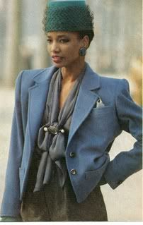 Martinique Super model Mounia...one of the top supermodels of the 70's & YSL's greatest muse