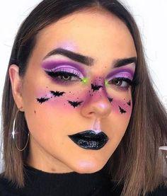 Dark Halloween Makeup, Amazing Halloween Makeup, Halloween Makeup Looks, Halloween 2020, Scary Halloween, Halloween Nails, Group Halloween, Halloween Costumes, Women Halloween
