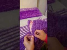 #DIY.Sakallı iple halı kaldırmaza paspas yapimi.doormat made from rope. - YouTube