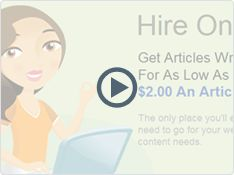 Starting at $3 Hire a Writer! #Outsourcing #Writers If you're tired of writing your own content for your website, or just can't find the time to do it yourself, iWriter is the perfect place for you. iWriter is the world's first and only service created solely to facilitate the process of hiring someone to write articles for you, at a price that simply cannot be beat.