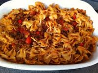 -- TheArmenianKitchen.com -- Everything about Armenian food: Macaroni with Fried Meat