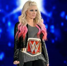 WWE Alexa Bliss RAW Woman's Championship