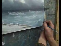 Дмитрий Роза - Учимся рисовать Бурю на море.