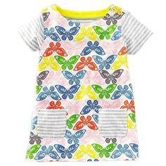 3cc3f4e0bfd Girls Dress Summer Baby Dress Princess Costume Animal Print 100% Cotton Kids  Tunic Jersey Dresses Children