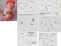 Best 11 18 Ideas sewing easy dress doll clothes – Page 781585710313647406 – SkillOfKing. Cat Fabric, Fabric Dolls, Fabric Art, Baby Patterns, Doll Patterns, Sewing Dolls, Lol Dolls, Waldorf Dolls, Beautiful Dolls