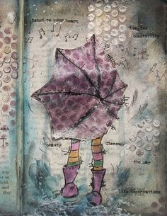 Mixed Media is a difficult thing to master, but it sure looks cool!