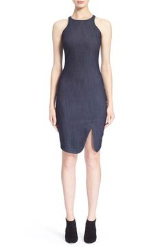 Elizabeth and James 'Bardot' Indigo Denim Dress available at #Nordstrom