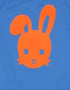 Blauw Bunny face shortpakje- Tapete - Kinderkleding online - Pepatino.be - Webwinkel voor kleine kleertjes - Aalst