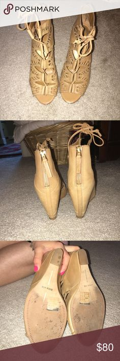 Dolce vita wedges Good condition super cute on!!! Dolce Vita Shoes Wedges