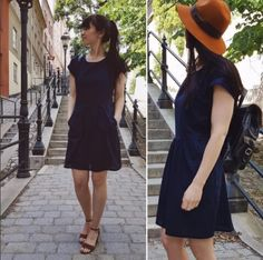 Sommerkleid kostenloses Schnittmuster fuer Damen