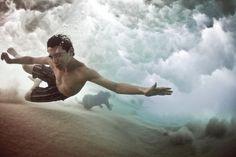 Under wave | @SingleFin_