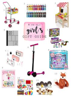 7 year old girl's gift guide
