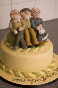 birthday cake 90 year old man