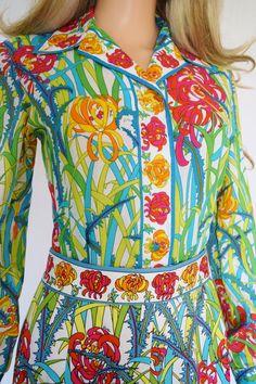 Vintage 1960's EMILIO PUCCI 2 Piece Blouse & di ElectricLadyland1, $639.99